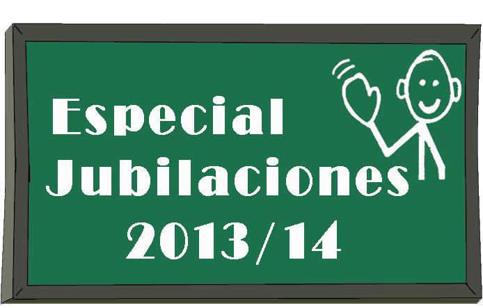 Jubilaciones Curso 2013-14